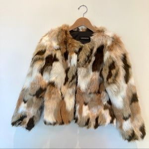 NWOT Faux Fur Jacket